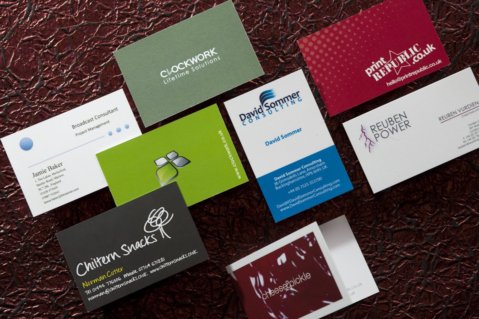 High standard business card printing printing service in gloucester high standard business card printing reheart Choice Image